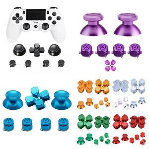 Alu Bullet Buttons für PS4 Controller Thumbsticks Tasten Knöpfe Modding Set