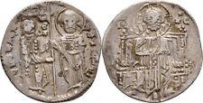 Grosso Matapan Dinar 1282-1321 Serbien Stefan Uros II. Milutin, Silber #CBS59
