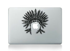 "Feather Head Dress Sticker Decal Macbook Air/Pro/Retina13""15""17"""