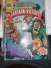 "CAPTAIN VICTORY & THE GALACTIC RANGERS #11 (1983) PC COMICS JACK ""KING"" KIRBY"