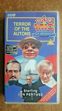 Doctor Who - Terror Of The Autons - Full Reconstructed Colour Version (VHS)