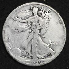 ** 1920 Walking Liberty Silver Half Dollar FREE SHIPPING!