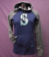 Nike MLB Womens Seattle Mariners Baseball Therma-Fit Hoodie NWT $70 S