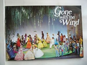 GONE WITH THE WIND Souvenir Program JUNE RITCHIE / HARVE PRESNELL London 1972-73