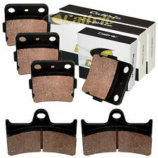 FRONT & REAR BRAKE PADS FITS YAMAHA Grizzly 660 YFM660F 4x4 2002 2003 2004-2008