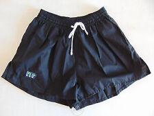 Vintage 80 ENNERRE Pantaloncini XS Nero 1° Calcio Shorts Glanz Soccer NOS Black