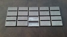 25mm x 25mm square Bases Horizontal slot warhammer Games Workshop brand RPG x10