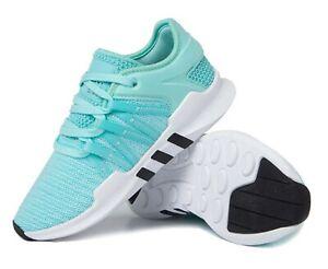 Adidas Women Originals EQT Racing Training Shoes Blue Sneakers Boot Shoe BZ0000
