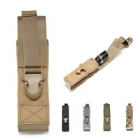Military Tactical Magazine Pouch Knife Flashlight Sheath Molle Pouch Bag