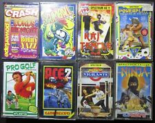 ZX Spectrum: Lot of 8 games on Cassette: Subway Vigilante/Scumball and more...