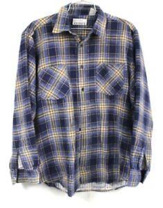 FIVE DOLLAR DEAL Vintage 90s Eddie Bauer Plaid Flannel Shirt Outdoors Hiking Pacific Northwest Lumberjack Grunge Button Down Oxford
