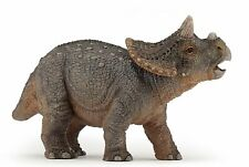 Young Triceratops Dinosaur # 55036 ~ Free Ship/Usa w/ $25.+ Papo Products