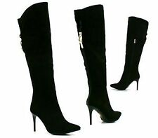 Women's Zip Stiletto Heel Boots