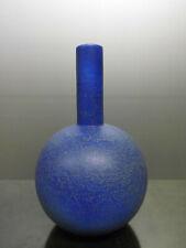 Ruscha 885 Vase Keramik blue west german pottery design 70s 70er