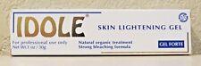 Idole Skin Lightening Gel 1oz (30g) Natural Organic Treatment - FREE SHIPPING!