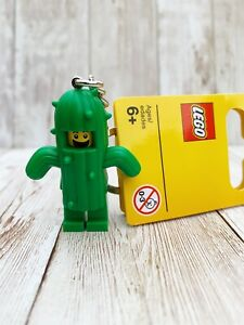 Brand New Lego - Cactus Boy/Guy Keyring (2019) - Classic - 853904