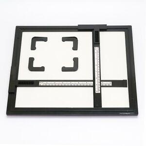 "Paterson Enlarging Easel 10x12"" 25x30cm Borderless Prints w/ 4 Magnetic Corners"