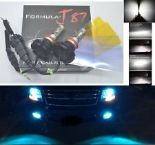 LED Kit X3 50W H9B 8000K Icy Blue Two Bulbs Head Light High Beam Replace Upgrade
