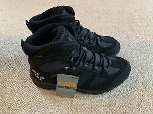 Jack Wolfskin Vojo Hike 3 men's high waterproof boots   black   size 7.5   new