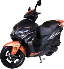 Razory R35 125ccm EFi 4-Takt Einspritzer Orange Schwarz-Matt Motorroller Scooter