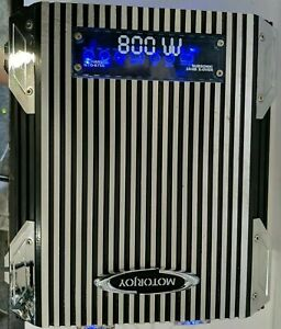 RARE! MotorJoy GTO-8750 2-channel 800-watts MOSFET Amplifier FULLY TESTED!