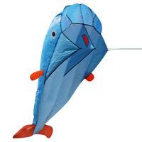3D Großes Weich Parafoil Riesig Delfin Drachen Außen- Sport Delphine Drachen
