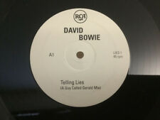 "David Bowie, Telling Lies, NEW/RARE Original UK PROMO DOUBLE 12"" vinyl single"