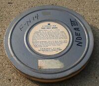16mm CORONET FILMS education YOUR BODY GROWS 1686 W ORIGINAL METAL ANTIQUE CASE