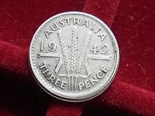 New listing Australia. 1942-M Mistruck Error 3d. Raised lip at base (struck off centre) aVf