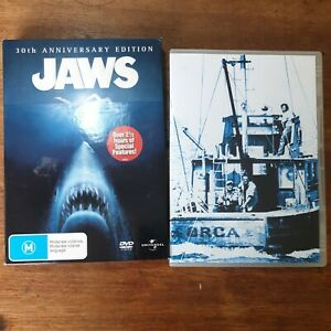 Jaws  30th Anniversary DVD VGC FREE POST R4