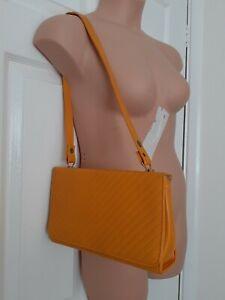 VINTAGE Yellow Shoulder Hand Bag Rockabilly Retro 1950's 1960's