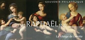 France Art Stamps 2020 MNH Raphael Paintings 1v M/S Philatelic Souvenir