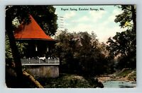 Excelsior Springs MO Regent Spring Bandstand c1910 Vintage Missouri Postcard