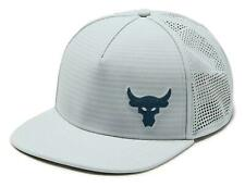 Under Armour x Project Rock Men's Snapback Vanish Cap Hat New 1324338 095 New