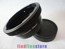 Pentacon 6 Kiev 60 Lens to Nikon F AI D300 D700 D200 D5100 D5200 adapter + CAP