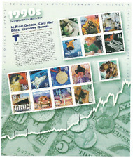 Scott #3191...33 Cent...Celebrate 1990's...Pane of 15 Stamps