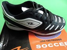 Arza Kids Turf Soccer Shoes Color Black /White