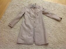 Genuine leather blush Pink Rose trenchcoat coat Wilson leather S