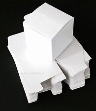 20 White Small Cardboard Boxes Box Mailing Storage Packing Cartons Jewelry Craft