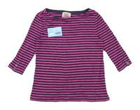 Arabella & Addison Womens Size S Striped Pink Top (Regular)