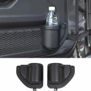 For Jeep Wrangler JL 2018-2019 Accessories Door Pocket Cup Holder Organizer Box