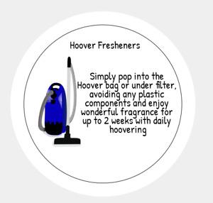 Hoover Disc Instruction Label
