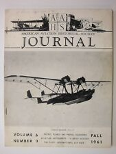 AAHS Journal Fall 1961: F100 Super Sabre, Patrol Boats, P-38 Lightning, Catalina
