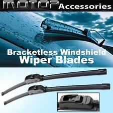 "Pair 21""+18"" OEM Bracketless Frameless Window Windshield Wiper Blades Wipers"