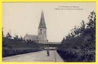 cpa 78 - LE TREMBLAY sur MAULDRE (Yvelines) L'ÉGLISE vue de l'Avenue du CHÂTEAU