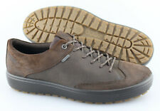 Men's ECCO 'Soft 7 Tred' Brown Leather Gore-Tex Sneakers Size US 9 EUR 43