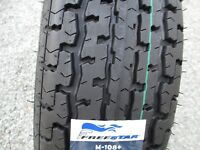 2 New ST 225/75R15 Freestar 108+ Radial Trailer Tires 10 Ply 2257515 75 15 R15 E