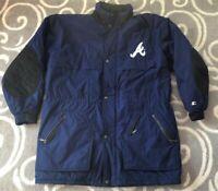 Vintage Atlanta Braves MLB Baseball Parka Starter 1990s Jacket Size XL