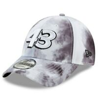 New Era Bubba Wallace White Smoke Burnout 9FORTY Adjustable Hat