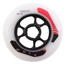 Worx kick Board Wheel 100 mm 87a stuntscooter City Roller rueda de repuesto alufelge nuevo!